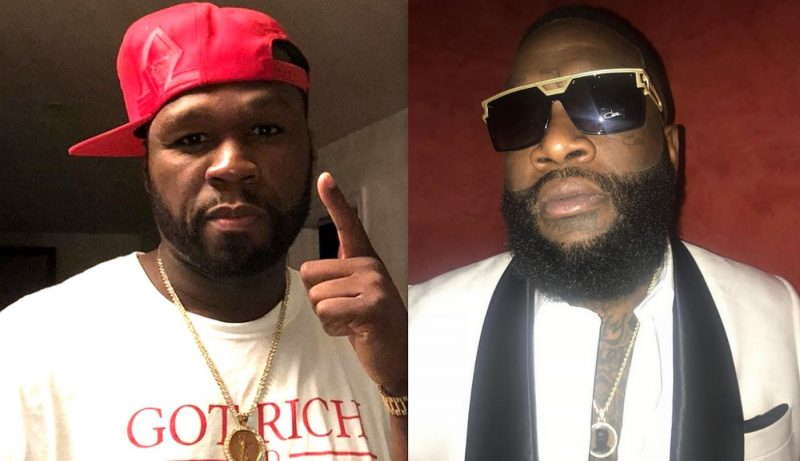 Is 50 Cent Wishing Death Upon Rick Ross While Fighting For His Life?