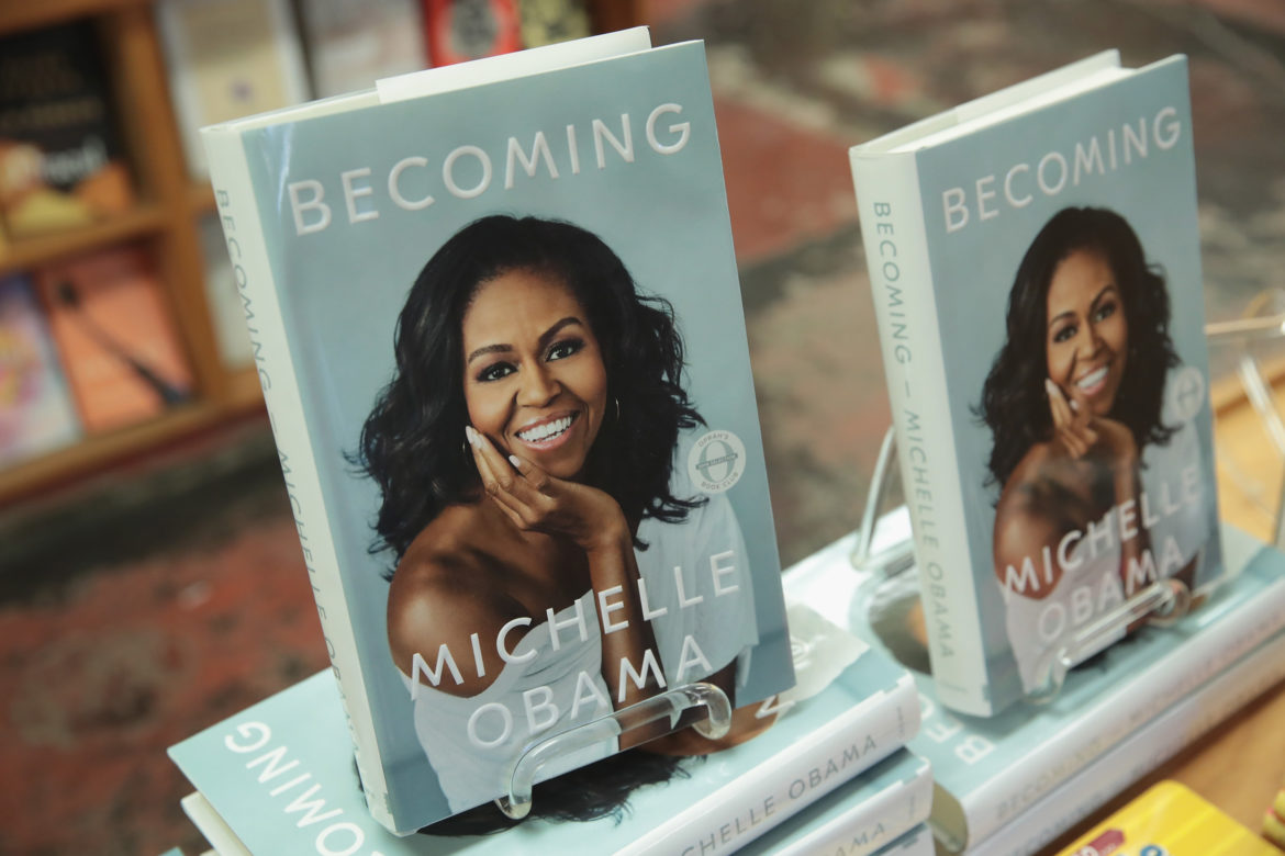 "Michelle Obama ""Becoming"" Set To Become The Best Selling Memoir Of All Time!"
