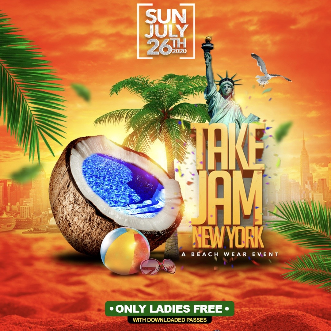 TAKE JAM NEW YORK In Beach Wear 2020