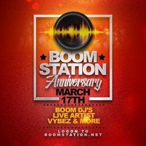 Boom Station Anniversary