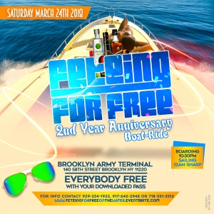 Feteing for free on the water