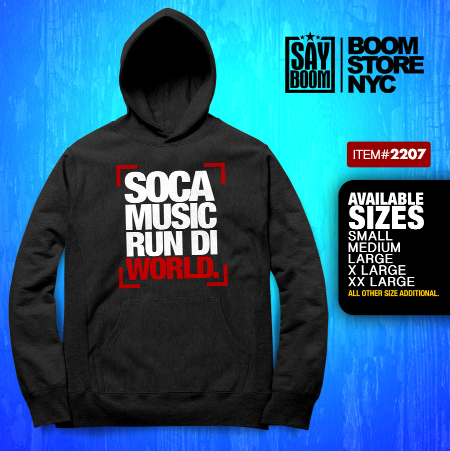 Soca Run Di world Hoodie