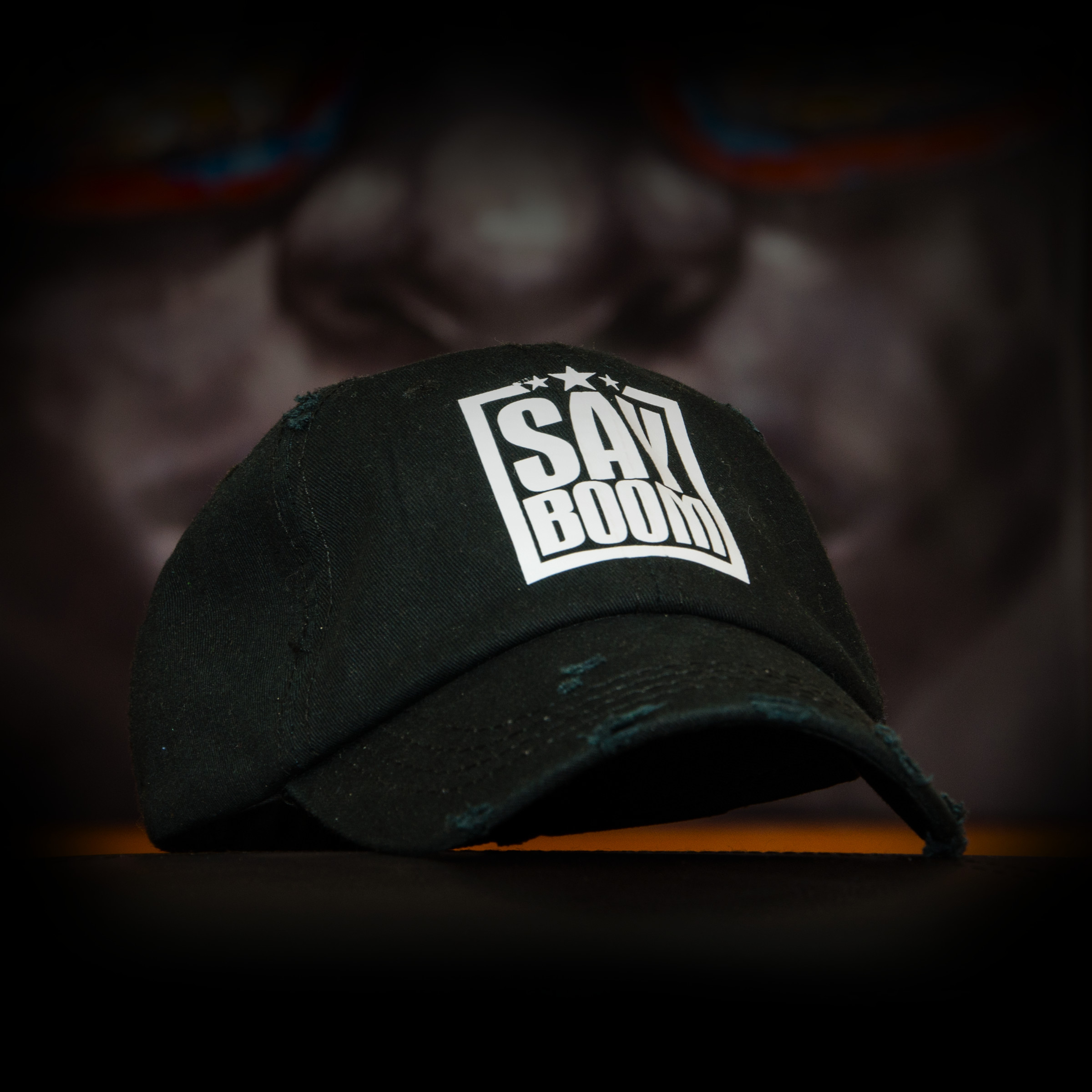 Black SayBoom Cap