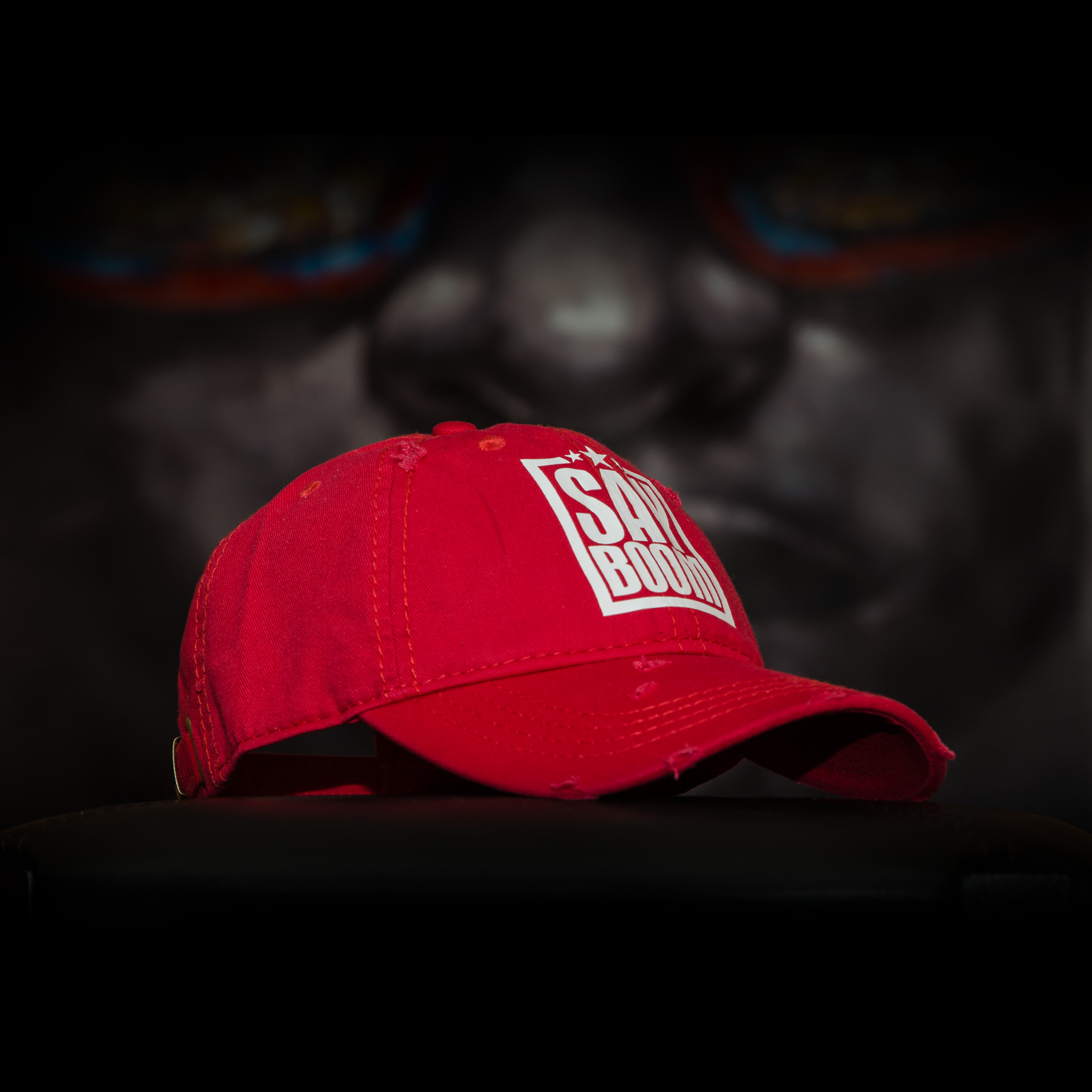 Red SayBoom Cap