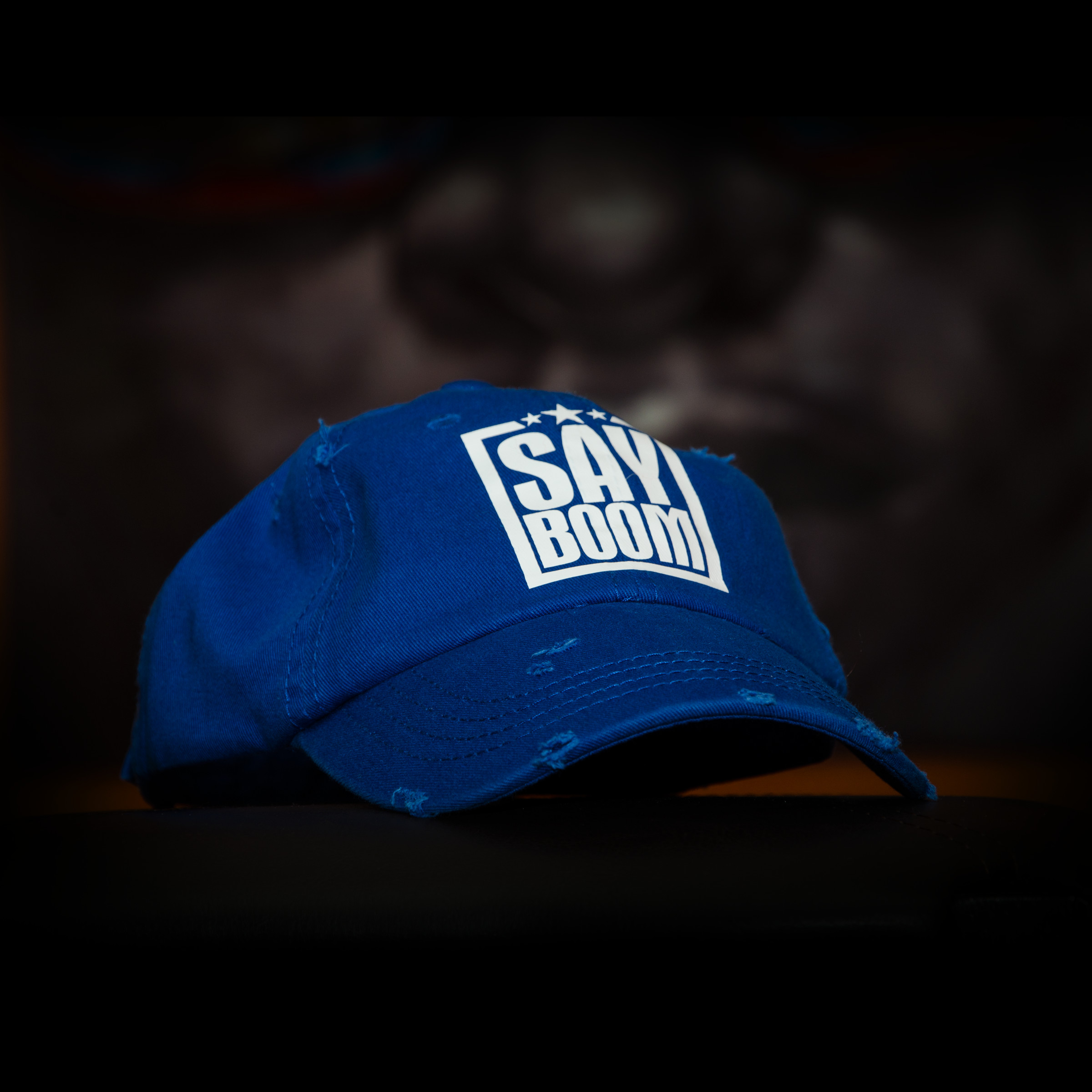 Royal Blue SayBoom Cap