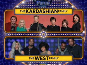 The Wests Go Up Against The Kardashian-Jenners In Celebrity Family Feud!