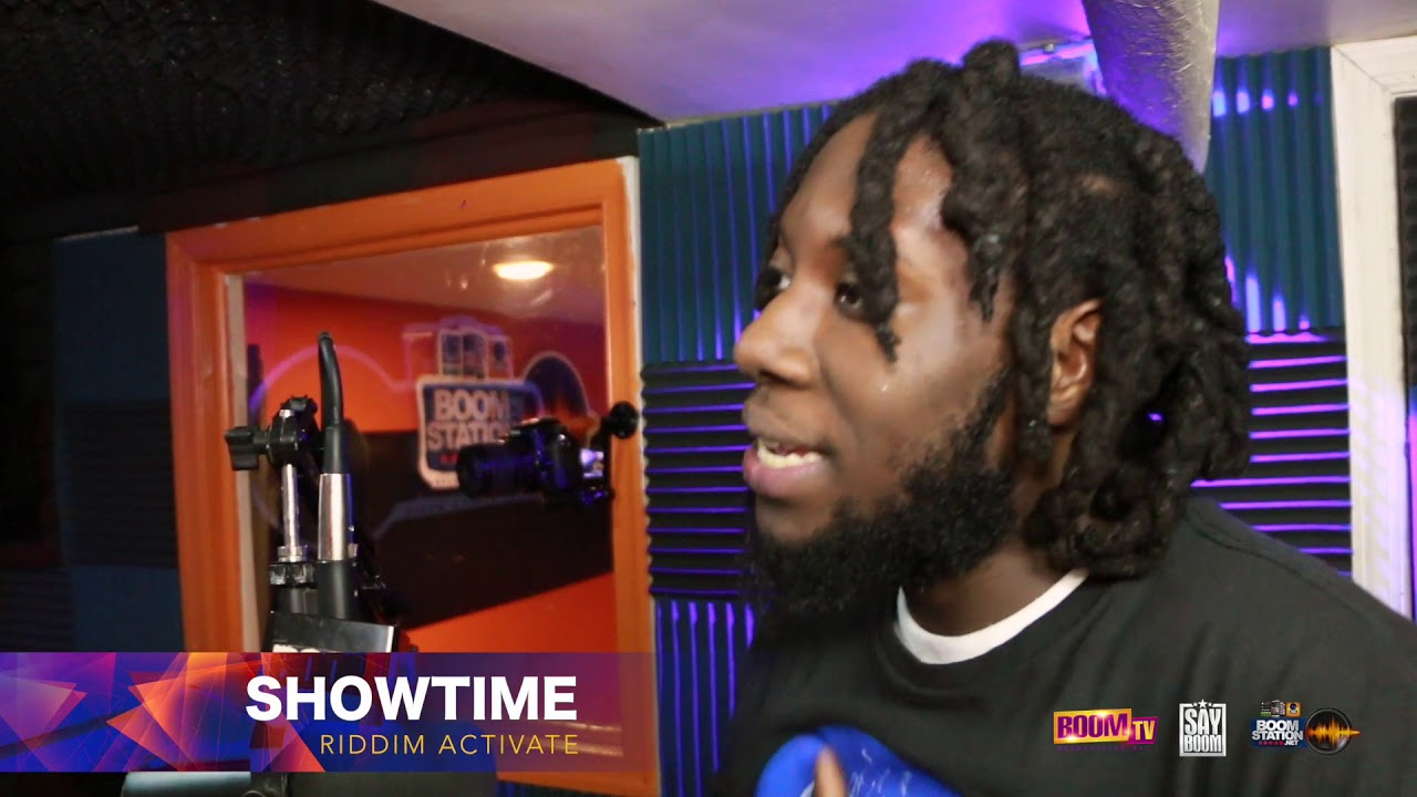 Showtime from Riddim Activate Speaks About His Love for the Riddim on Boomstation New York City